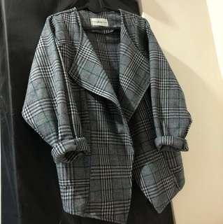 🍁2018This season 🍁made in Korea 格仔褸 coat jackets