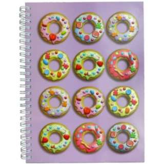 CANDYLICIOUS A5 DONUTS NOTEBOOK