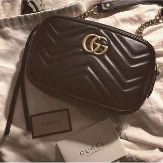 GUCCI GG MARMONT MINI BAG 袋