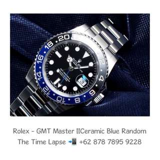 Rolex - GMT Master II Ceramic Blue Black Random