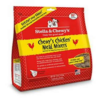 Stella & chewy chicken meal mixers 18oz