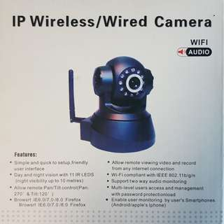 BNIB IP Wireless CCTV Surveillance Security Safety Camera Night Vision Pan