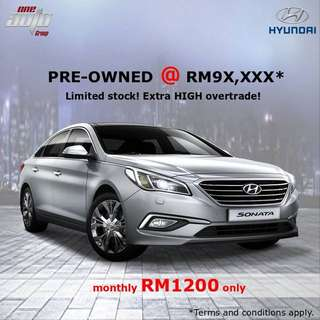 Hyundai preowned hyundai sonata 2.0 like a new big sedan luxury family car