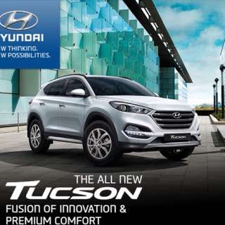 Rebate Rm7,500 New hyundai tucson suv family car