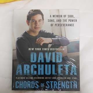 David Archuleta Chords of Strength autobiography