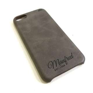 Personalised Premium PU Leather Case - iPhone and Samsung