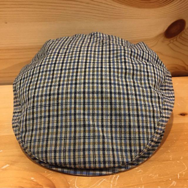 🇺🇸70s美國faustmann復古羊毛格紋狩獵帽 古董老帽 男女皆可Vintage 歐美古著