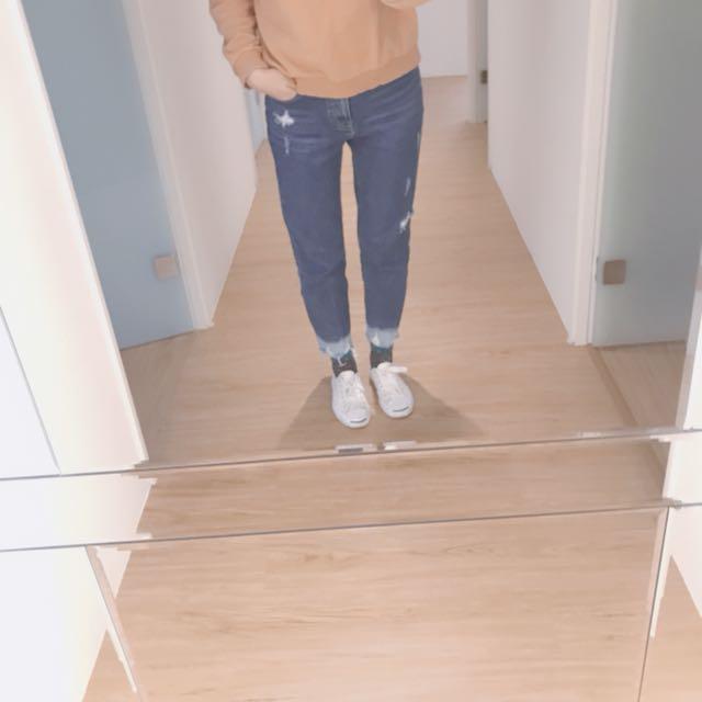 正韓直筒褲