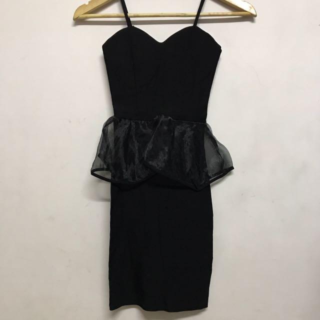黑色小禮服 洋裝