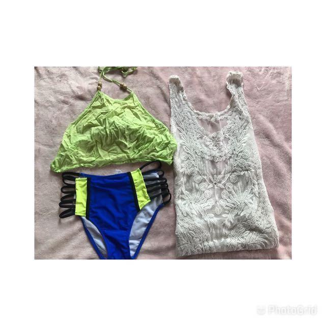 bikini with boho