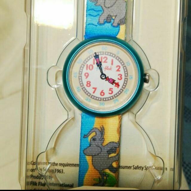 全新 Flik Flak 兒童錶 swiss 製造