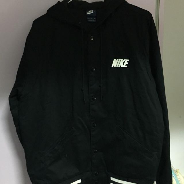 二手美品 nike棒球外套 有內裡 XL