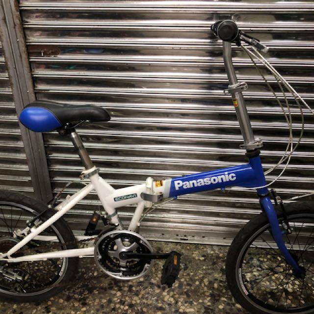 九成新 Panasonic 21速 二手腳踏車 二手折疊車 二手小折