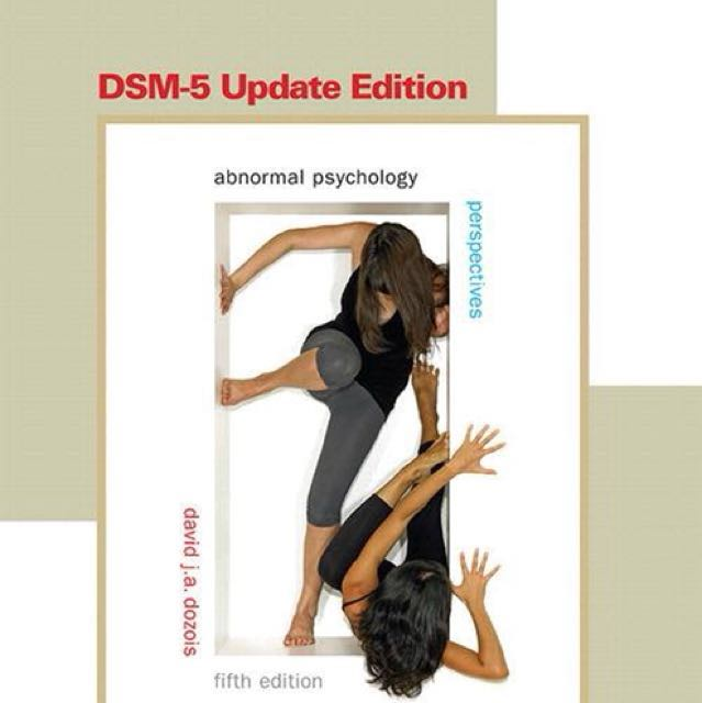 Abnormal Psychology: Perspectives DSM-5 Update Edition