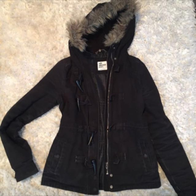 ALL ABOUT EVE PARKA JACKET WITH HOOD