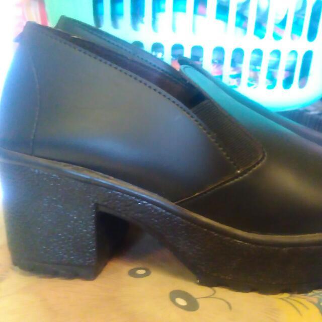Low Ankle Heels Tahu Slip On
