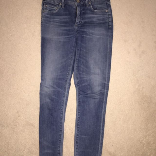 Aritzia Citizens of Humanity Rocket crop Aura Jeans