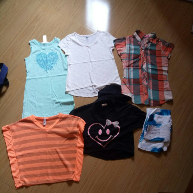 Assorted Top for kids 6 pcs