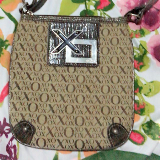 Auth xoxo sling bag