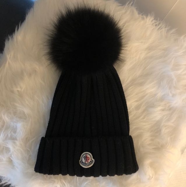 Authentic moncler hat