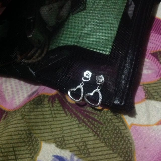Authentic silver, brand new earrings