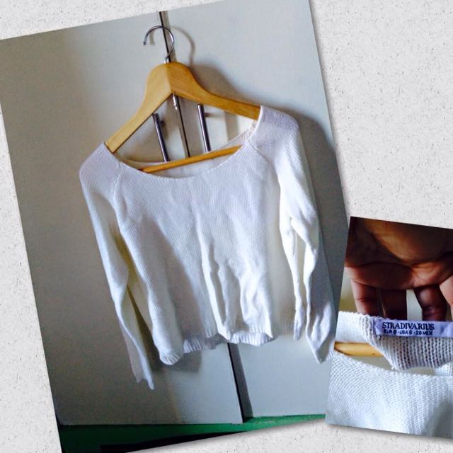 Authentic stradivarius pullover