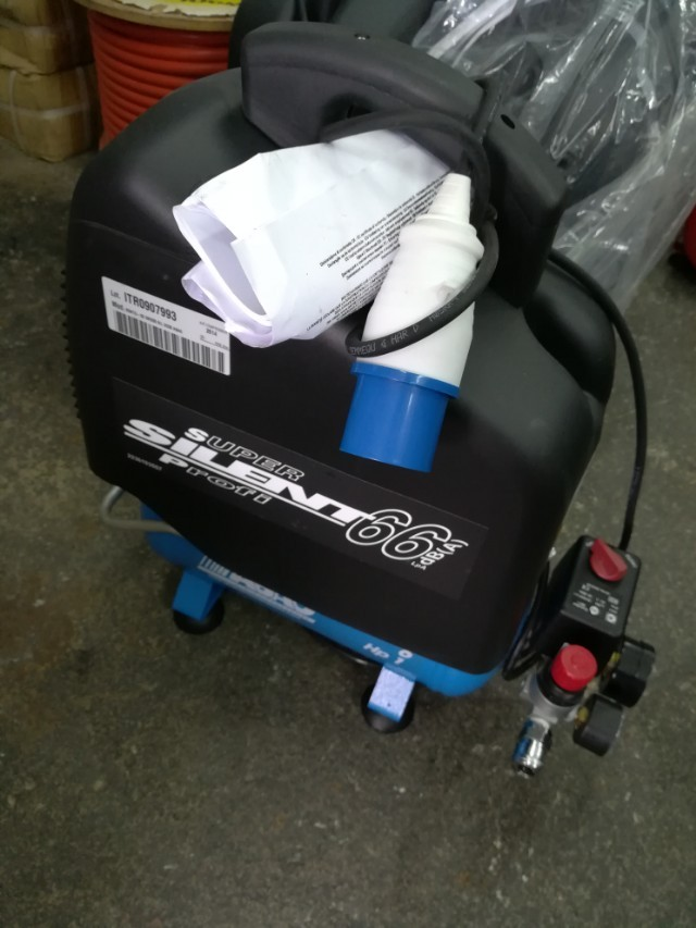 ABAC 1HP Silent Oil Free Air Compressor