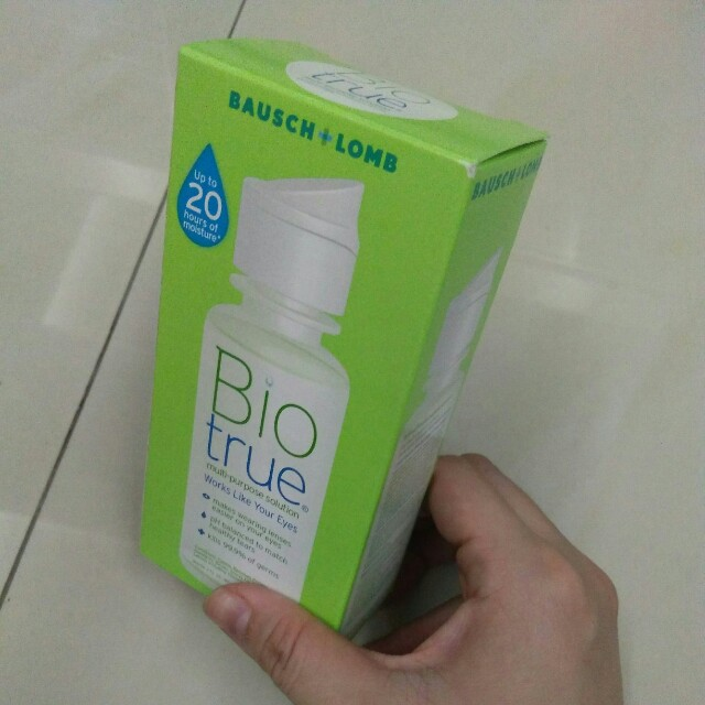 🆕 Bausch and lomb multi purpose solution