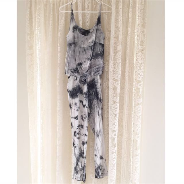 Beulah Tie Dyed Playsuit