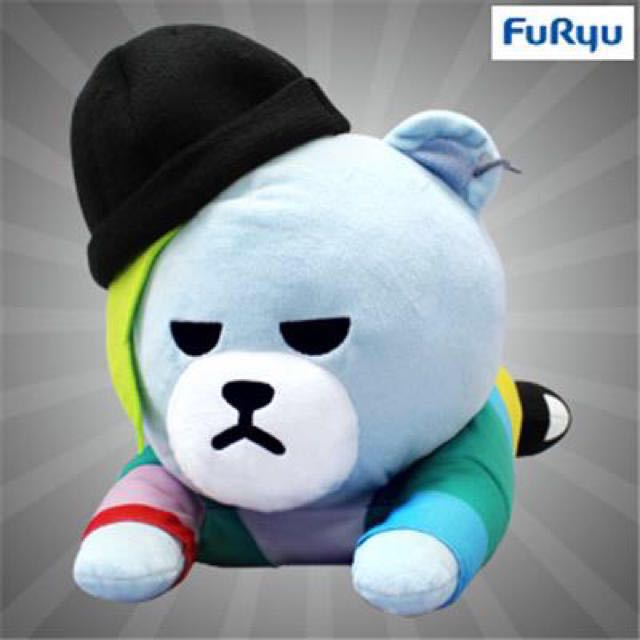 KRUNK ' BIGBANG gift boots stuffed toy 1 all three sets