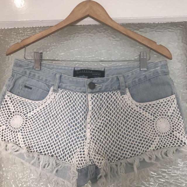BillabongDenim Shorts Sz 12