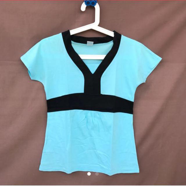 Blue Formal Tshirt