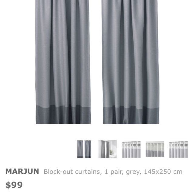 BN BLOCK OUT Curtain Ikea