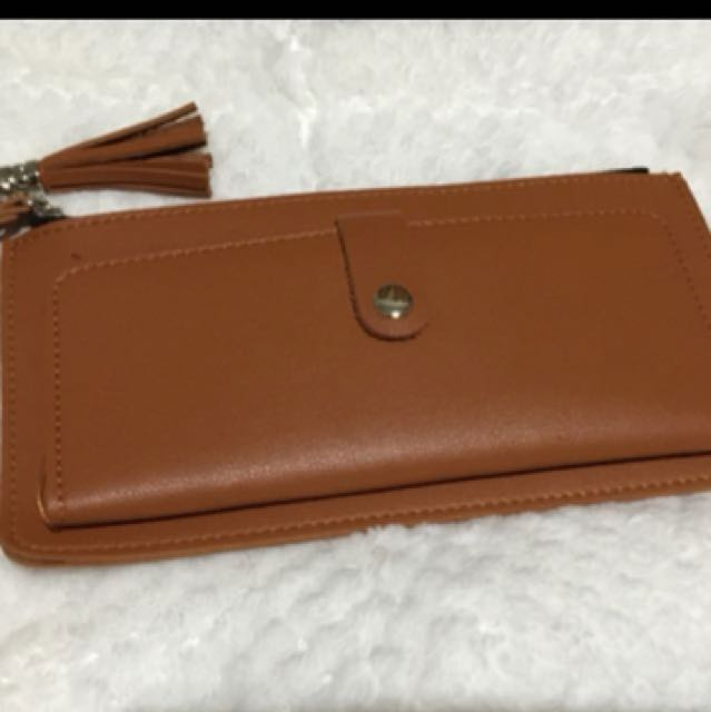 Booked type brown with tassel