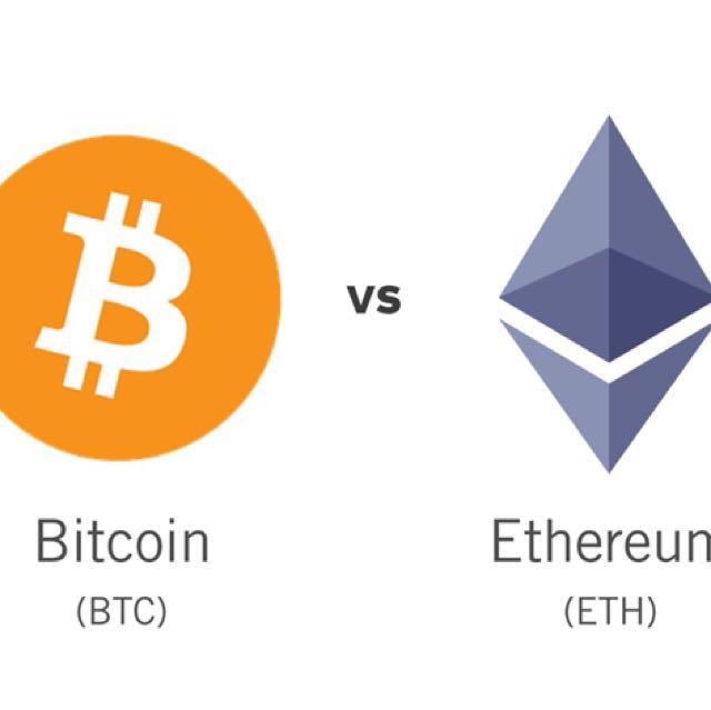 BTC AND ETHEREUM