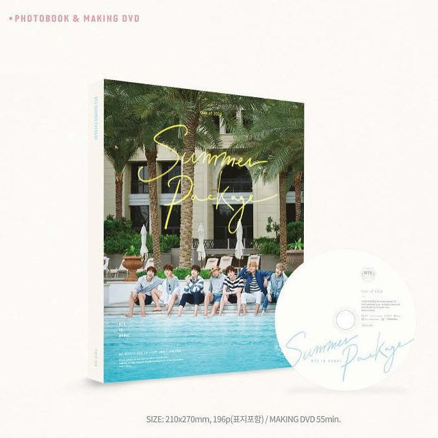 1590ad9a4ab BTS Summer Package In Dubai 2016 (Photobook   Making DVD only ...
