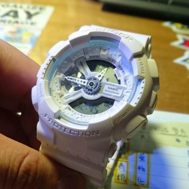 Casio 手錶 白色