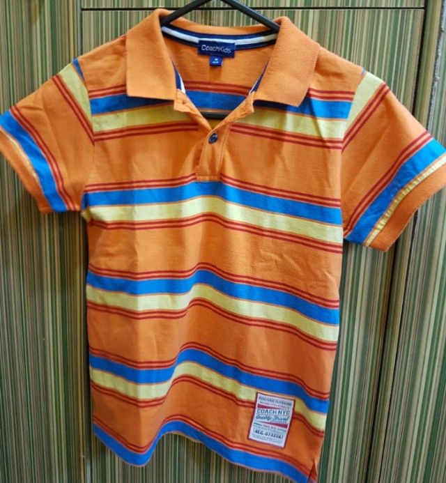 Coach Boy's Polo Shirt (5-6 yo)