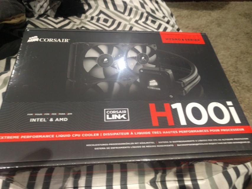 Corsair H100i CPU cooler