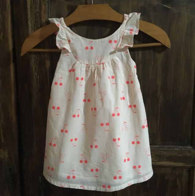 Cotton On baby cherry dress/top