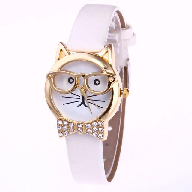 Cute Kitty Watch