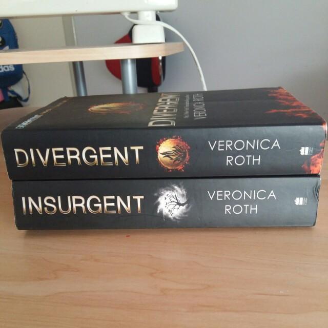 Divergent YA novel series Book #1 & #2
