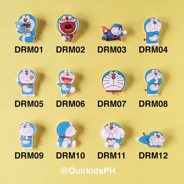 Doraemon Acrylic Pin