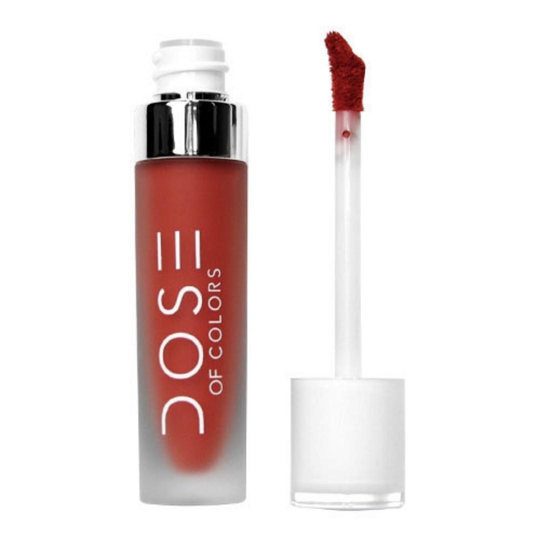 Dose of Colors Liquid Lipstick in Campfire
