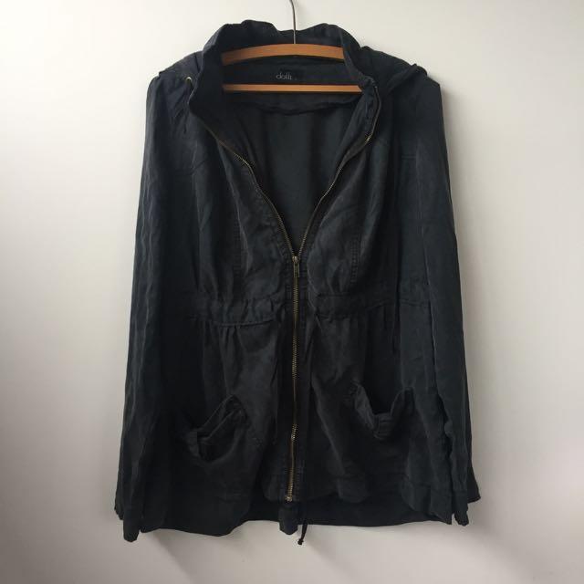 Dotti Charcoal Jacket