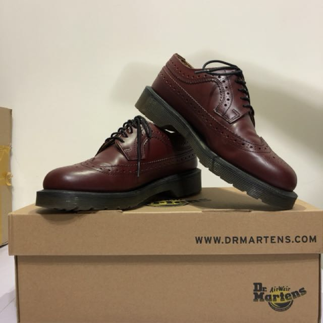 Dr.martens 3989 smooth cherry red 原價5880 馬丁 正版 經典 復古 雕花鞋