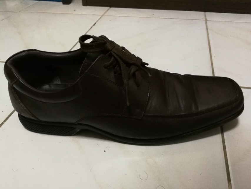 Duchini brown dress shoes size EUR 43
