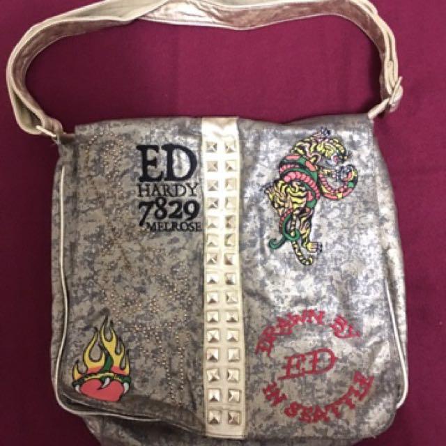 22ae8cea04aa Ed Hardy Sling Side bag