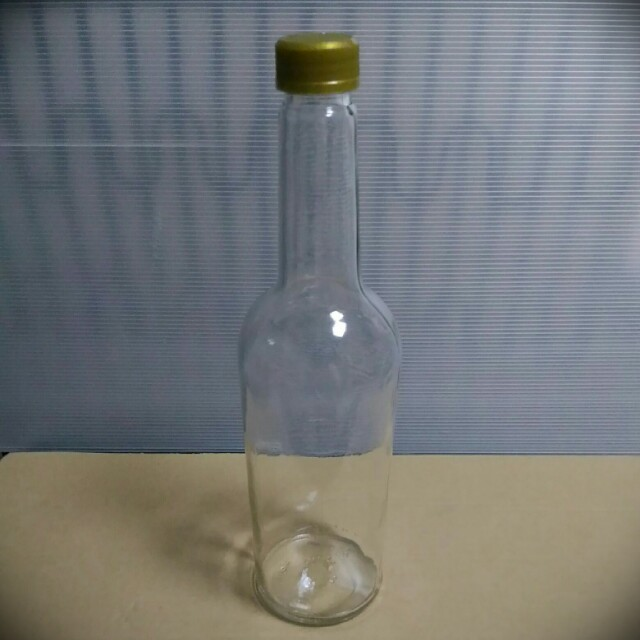Empty Glass Bottle with Screw Cap, 750ml