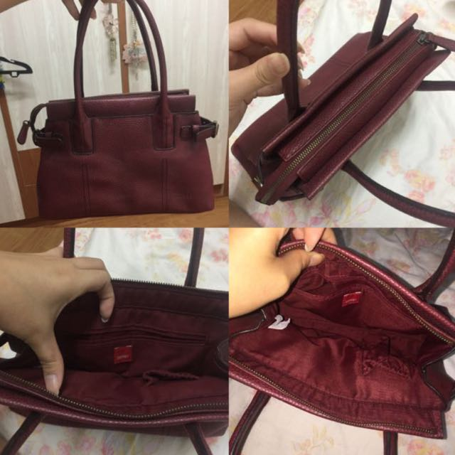 Esprit Red Handbag